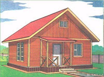 Дачный домик 5х6 одноэтажный