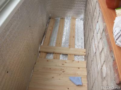 Как положить пол на балконе своими руками - инструкция!.
