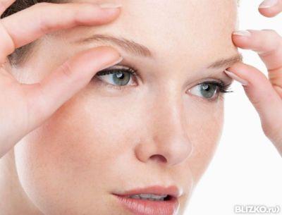 Упражнения от морщин и мешков под глазами