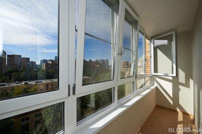 Окно пластиковое 1-камерное для остекления балкона профиль b.