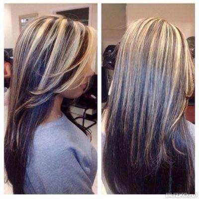 мелирование длинные волосы на картинки