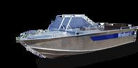 Катер моторный для рыбалки из алюминия Windboat 47PRO