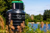 Пластиковый кессон для скважины Rodlex KS 2.0 без крышки